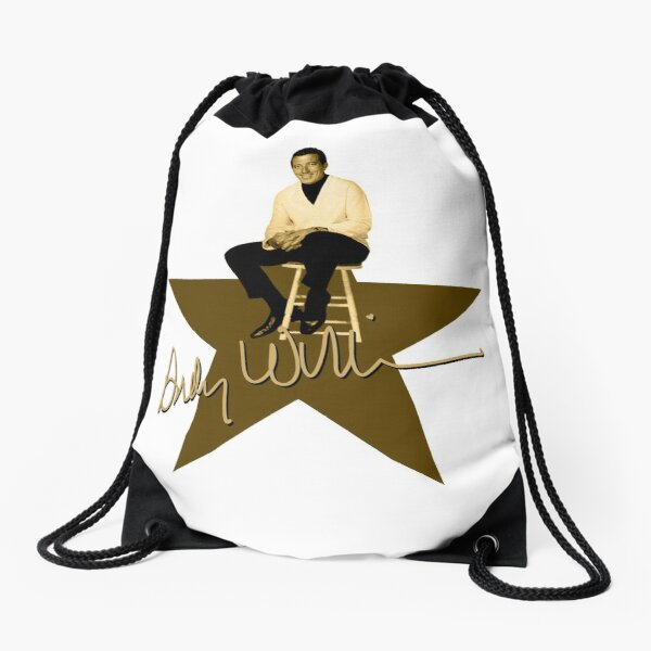 Andy Williams - Signature Drawstring Bag