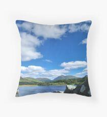 Loch Awe from Kilchurn Throw Pillow