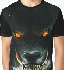 Angry wolf. Graphic T-Shirt