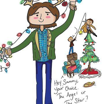 A very supernatural christmas! by kalin-snowden