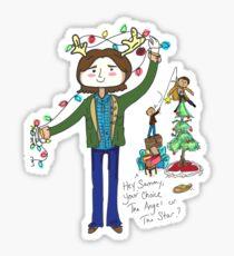 A very supernatural christmas! Sticker