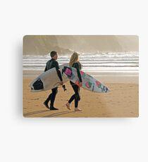 Surfer synchro Metal Print