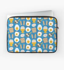 Kawaii Eggs For Breakfast Laptop Sleeve