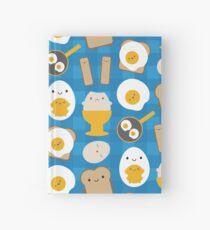 Kawaii Eggs For Breakfast Hardcover Journal