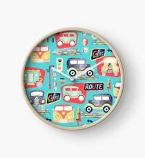 Travel Back in Time - Sky Blue Clock