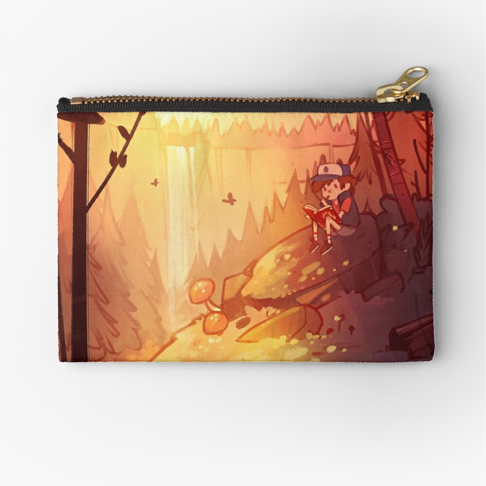 By the Falls Zipper Pouch