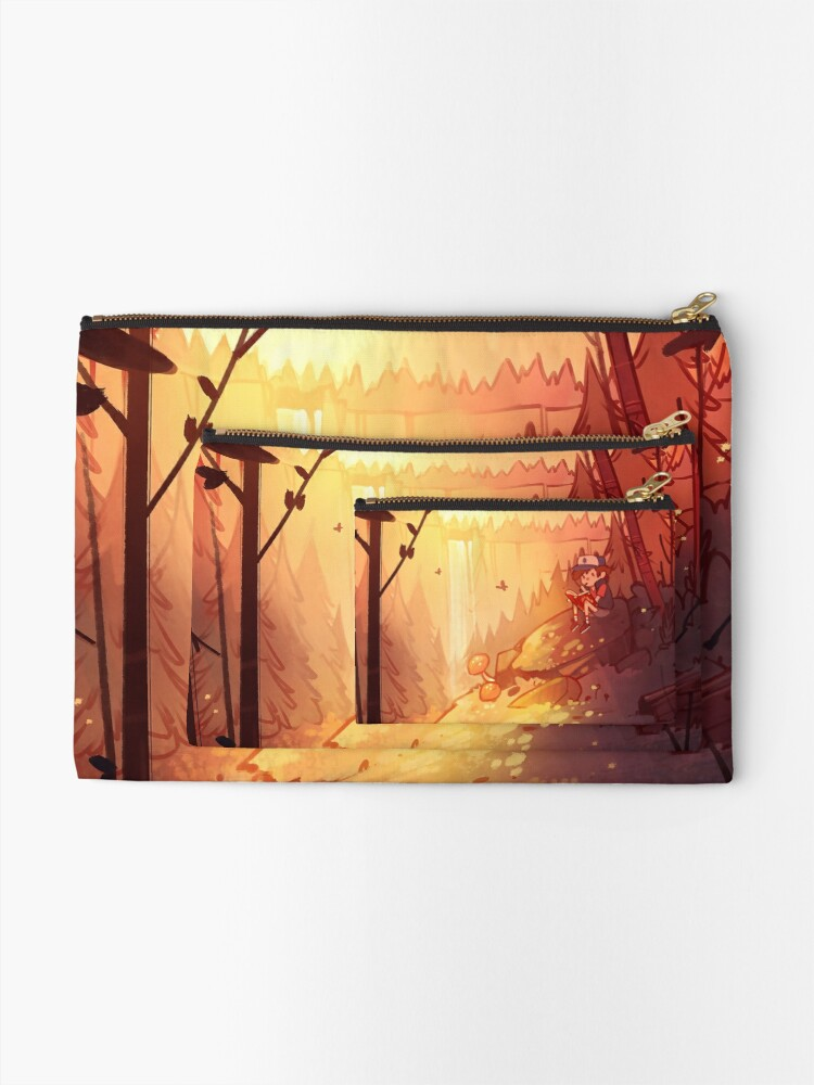 Alternate view of By the Falls Zipper Pouch