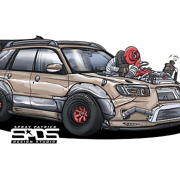 Supercharged Subaru Forester SG by SprayPatrick