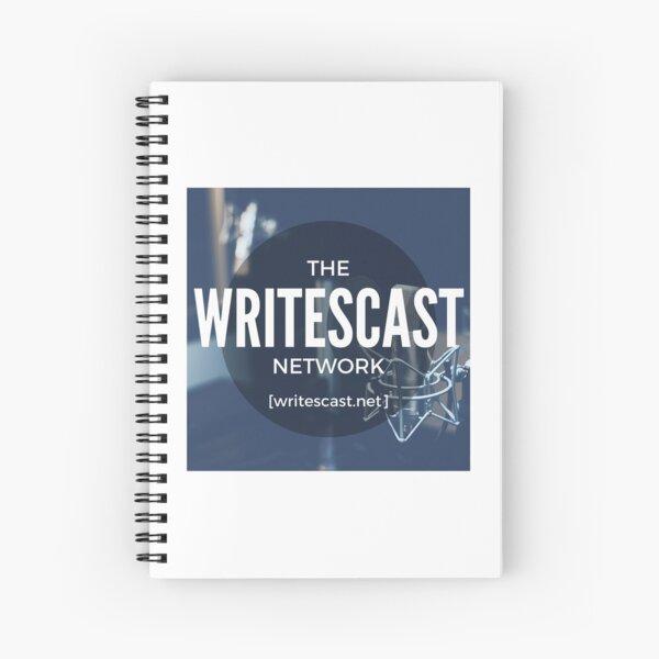 Writescast Network Logo Spiral Notebook