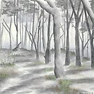 """""""Forest in the Fog""""  by Robin Galante"""