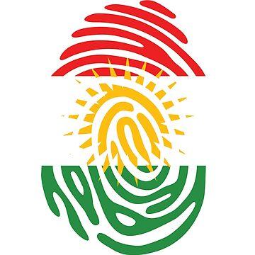 Kurdish DNA Fingerprint by berryferro