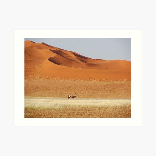 An Oryx posing Art Print