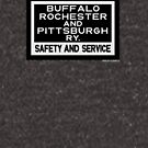Buffalo, Rochester & Pittsburgh Railway - Safety and Service Herald Merch. by CultofAmericana