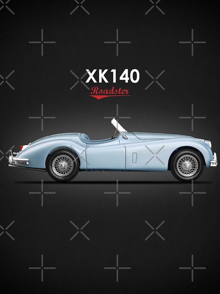 Der 1956 XK140 von rogue-design