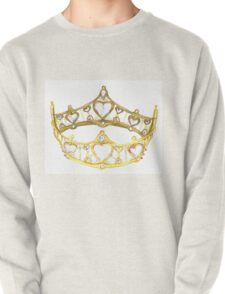 Queen of Hearts gold crown tiara by Kristie Hubler Pullover
