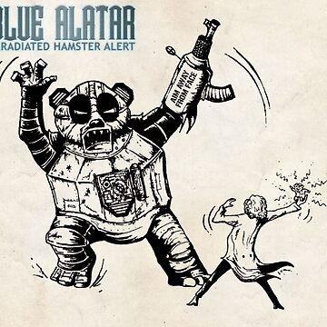 Irradiated Hamster Alert Album Cover by StabbedPanda