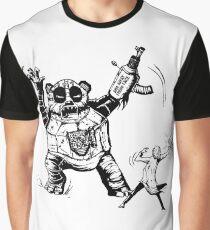 Irradiated Hamster Alert Album Cover Graphic T-Shirt