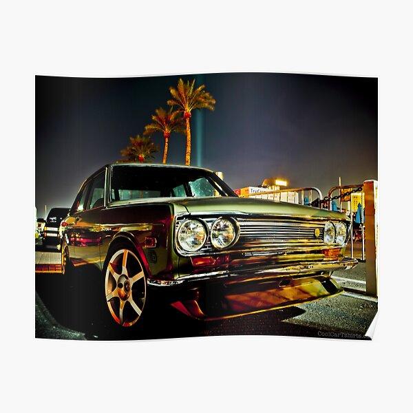 Datsun Bluebird SSS 510 Poster