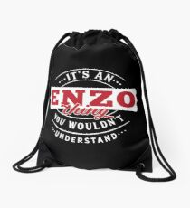 It's a ENZO Thing You Wouldn't Understand Drawstring Bag