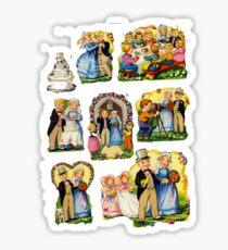 Weddings Sticker