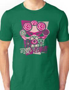 Cute Mascot Stencil Unisex T-Shirt