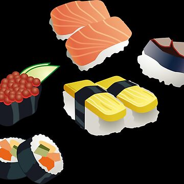 Sushi variants - Gift idea by mar1994