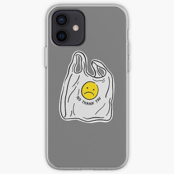 Di no a las bolsas de plástico Funda blanda para iPhone