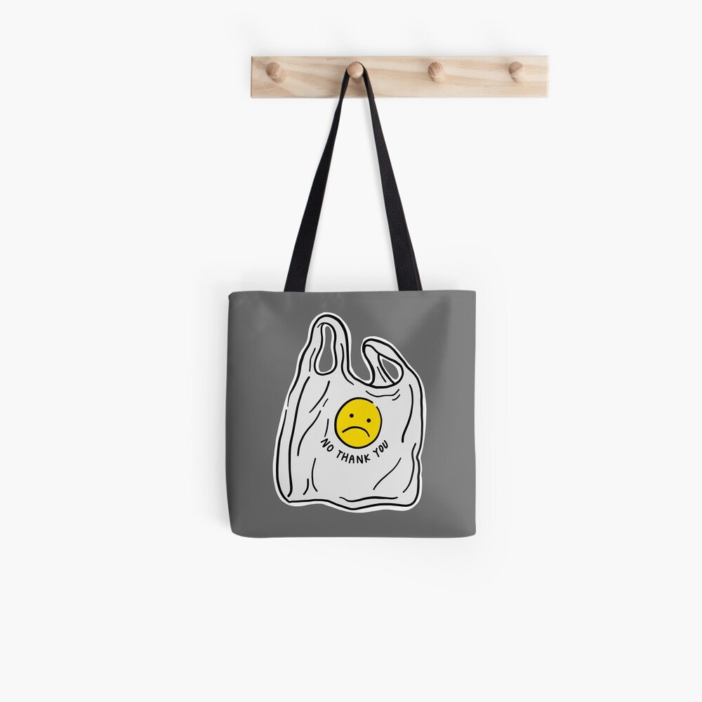 Say no to plastic bags Tote Bag