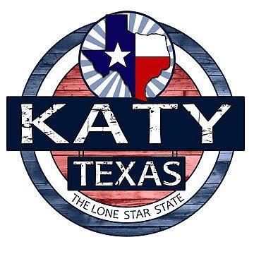 Katy Texas rustic wood circle by artisticattitud