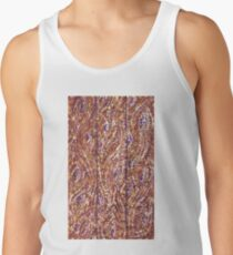 Wood Planks Pointillism by Kristie Hubler Tank Top