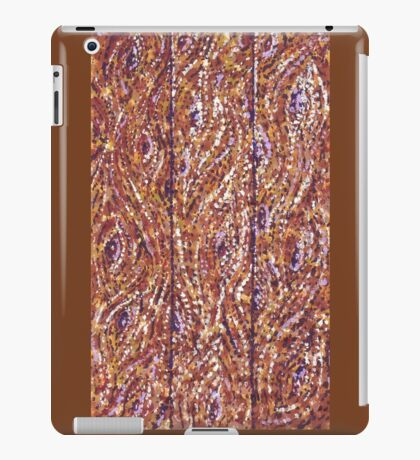 Wood Planks Pointillism by Kristie Hubler iPad Case/Skin