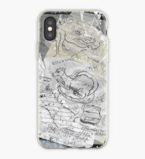 Dreaming of Dragons Sketchbook iPhone Case