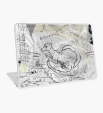 Dreaming of Dragons Sketchbook Laptop Skin