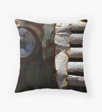 Rustic Carro Throw Pillow
