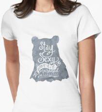 SSDGM Bear Women's Fitted T-Shirt