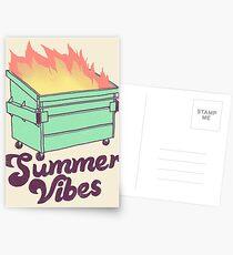 Summer Vibes Postcards