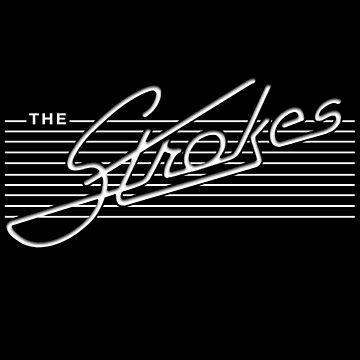 Strokes // The . Strokes . Logo by DesignedByOli