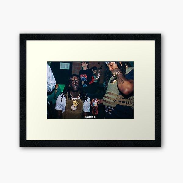 Chief Keef Backstage Framed Art Print