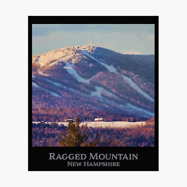 Ragged Mountain New Hampshire Photographic Print