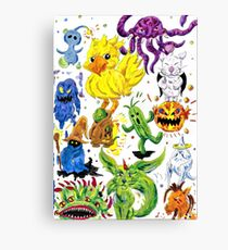 All the Creatures Canvas Print