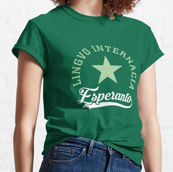 Esperanto Lingvo Internacia Classic T-Shirt