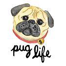 Pug Life by julieerindesign