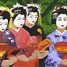 Geisha Girls by signaturelaurel