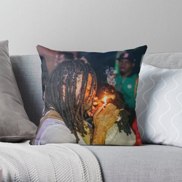 Chief Keef Throw Pillow