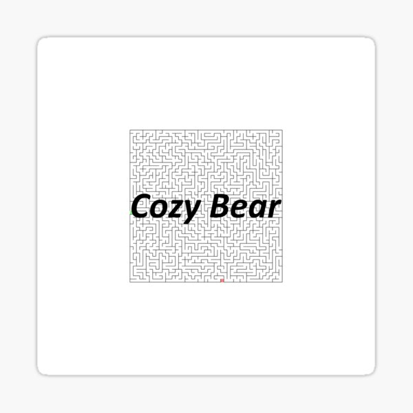 Cozy Bear, Advanced persistent threat, Cyberespionage, cyberwarfare, Spearphishing, malware, #CozyBear, #AdvancedPersistentThreat, #Cyberespionage, #cyberwarfare, #Spearphishing, #malware Sticker