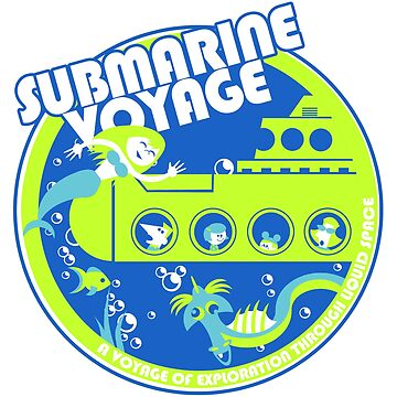 Submarine Voyage (neon colors) by clockworkmonkey