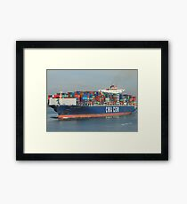 CMA CGM Parsifal Framed Print