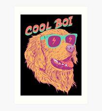 Cool Boi Art Print