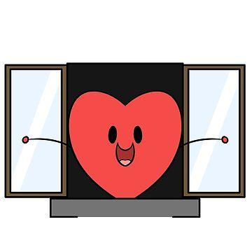 Window to my heart by Zeeph