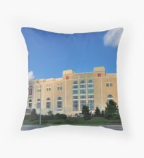 UNL's Memorial Stadium Throw Pillow